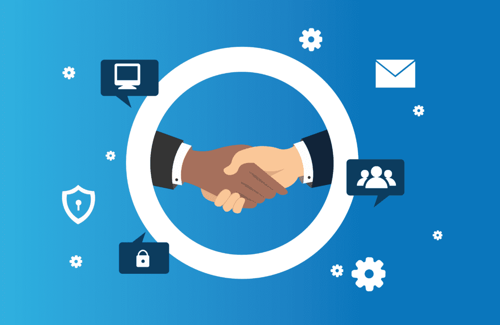 managed services provider, creating partnerships