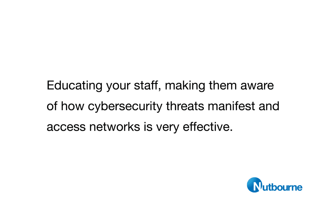 Nutbourne's 10 top tips for cybersecurity in London